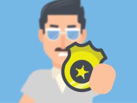 Cop Character Design
